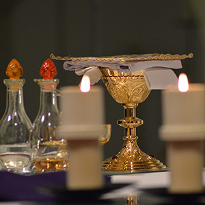 Holy Communion at Mass