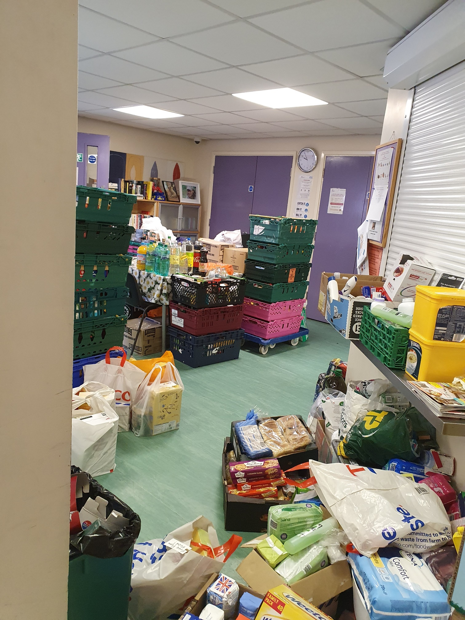 Donations to the Day Centre