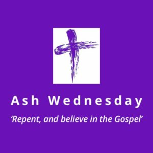 Ash Wednesday Banner